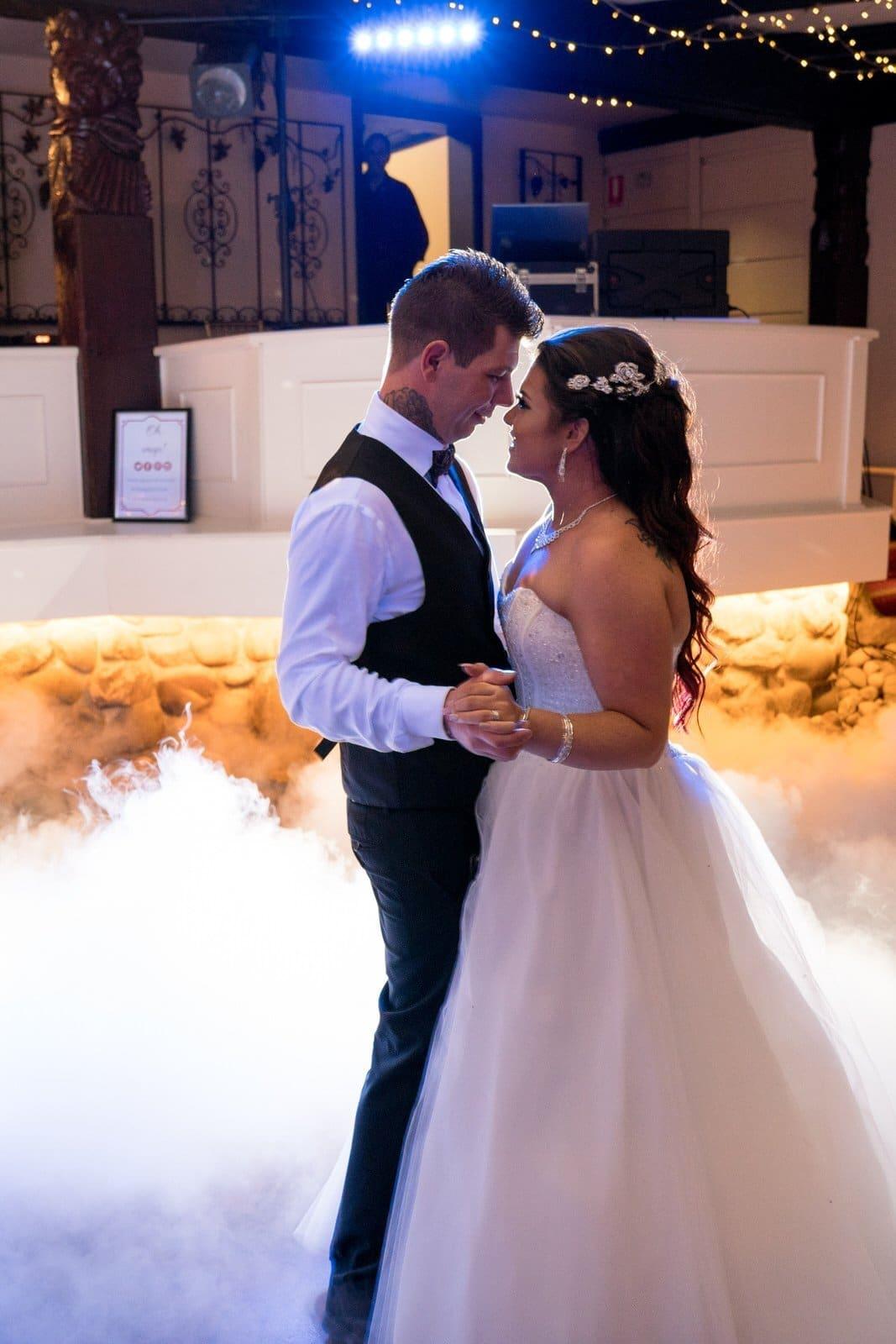 Chateau Wyuna Wedding Reception First Dance