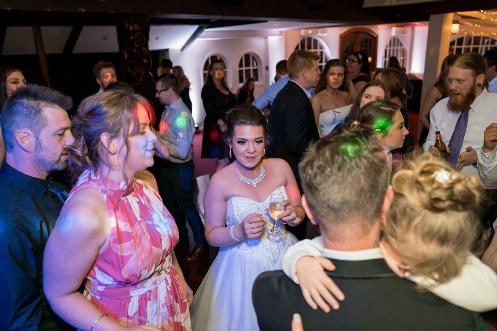 Chateau Wyuna Wedding Reception Dancing