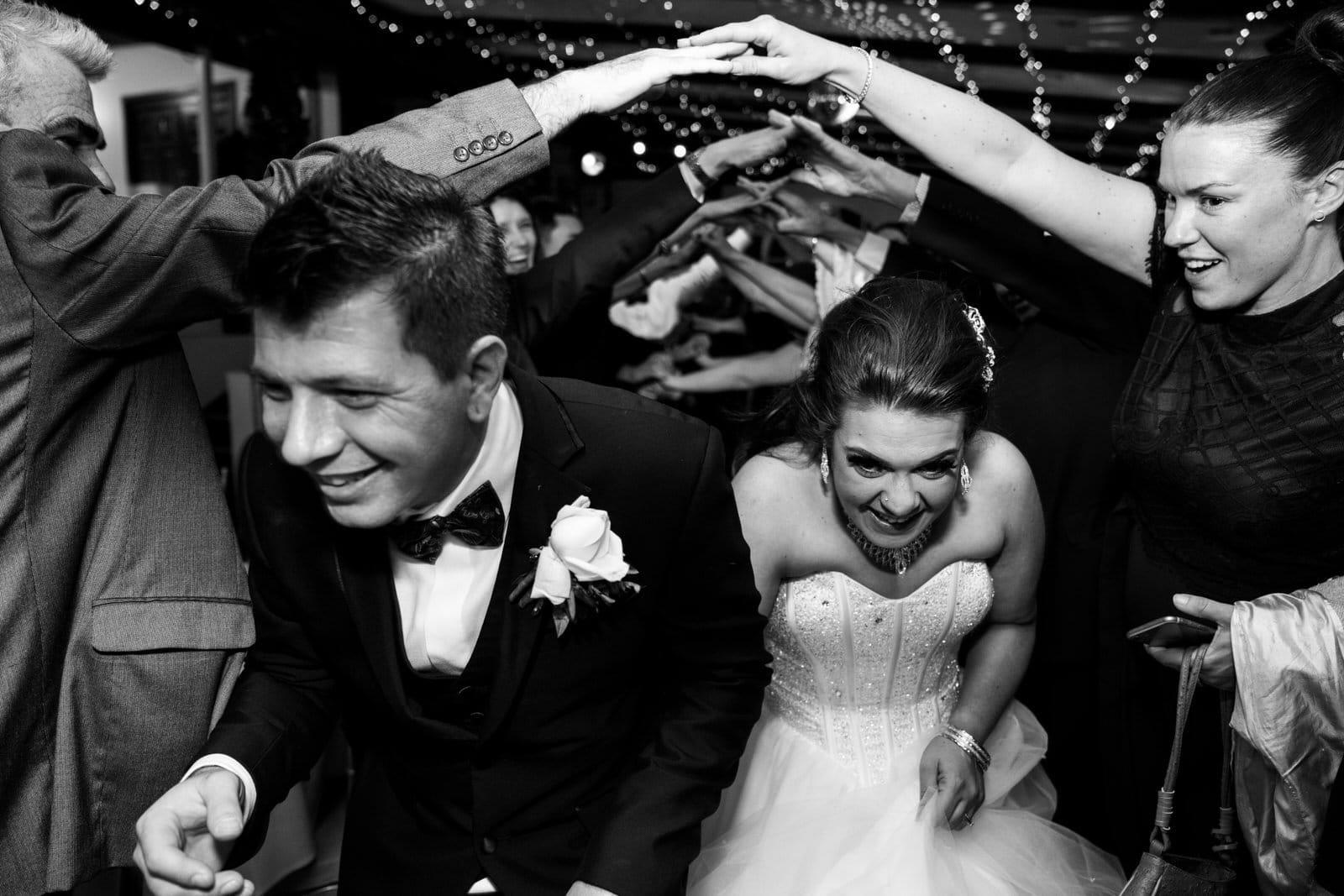 Chateau Wyuna Wedding Reception Farewell
