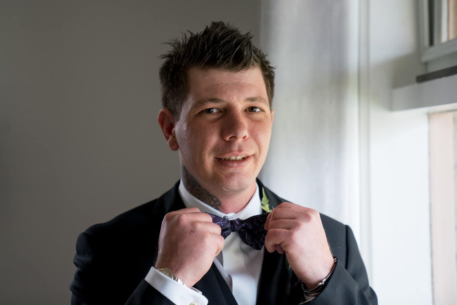 Melbourne Wedding Photographer Groom