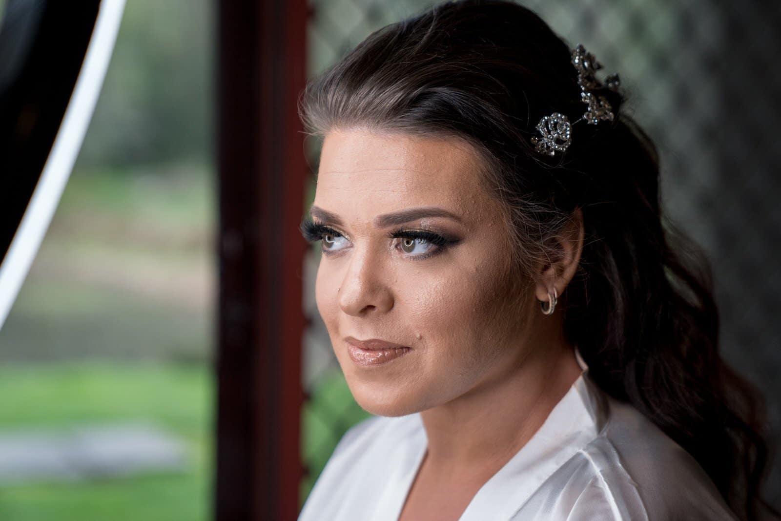Melbourne Wedding Photographer Bride getting ready