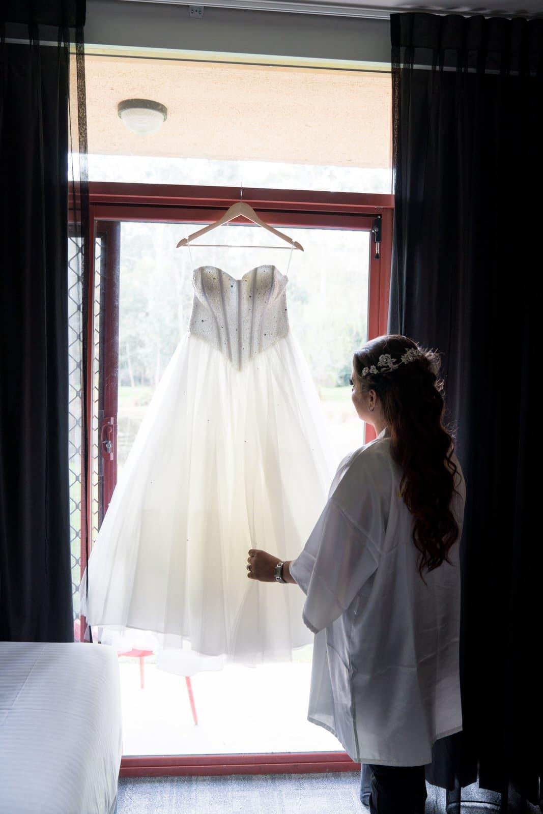 Melbourne Photographer Bride Wedding Dress