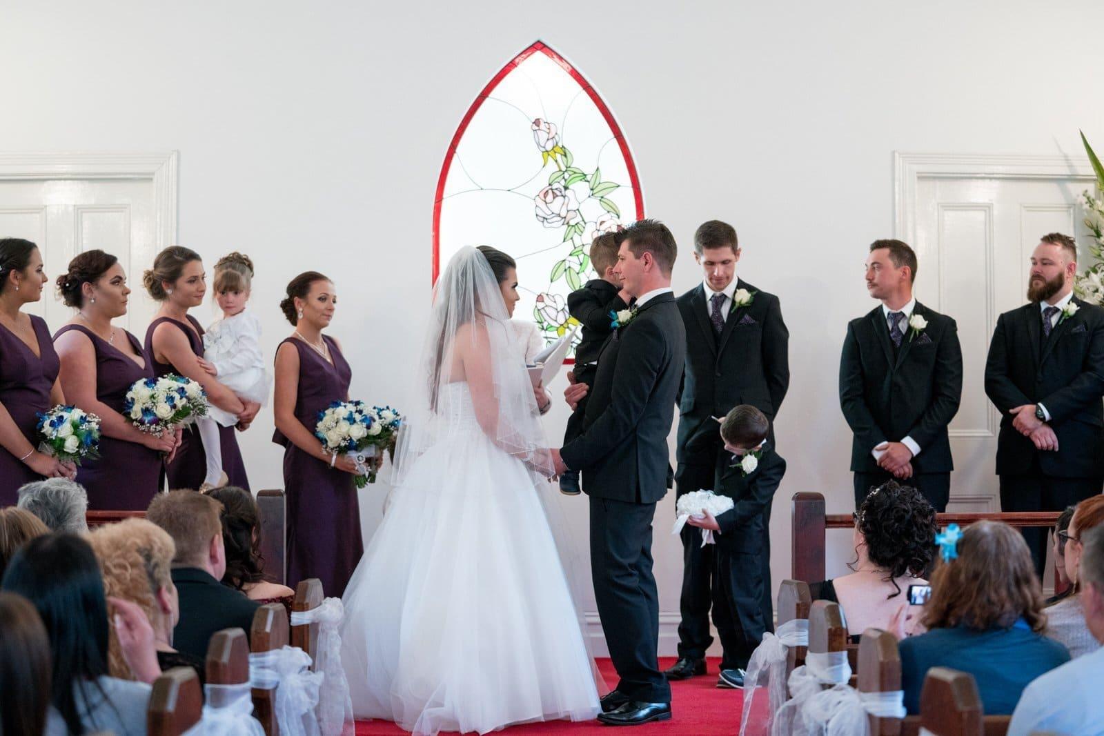 Chateau Wyuna Wedding Ceremony Chapel