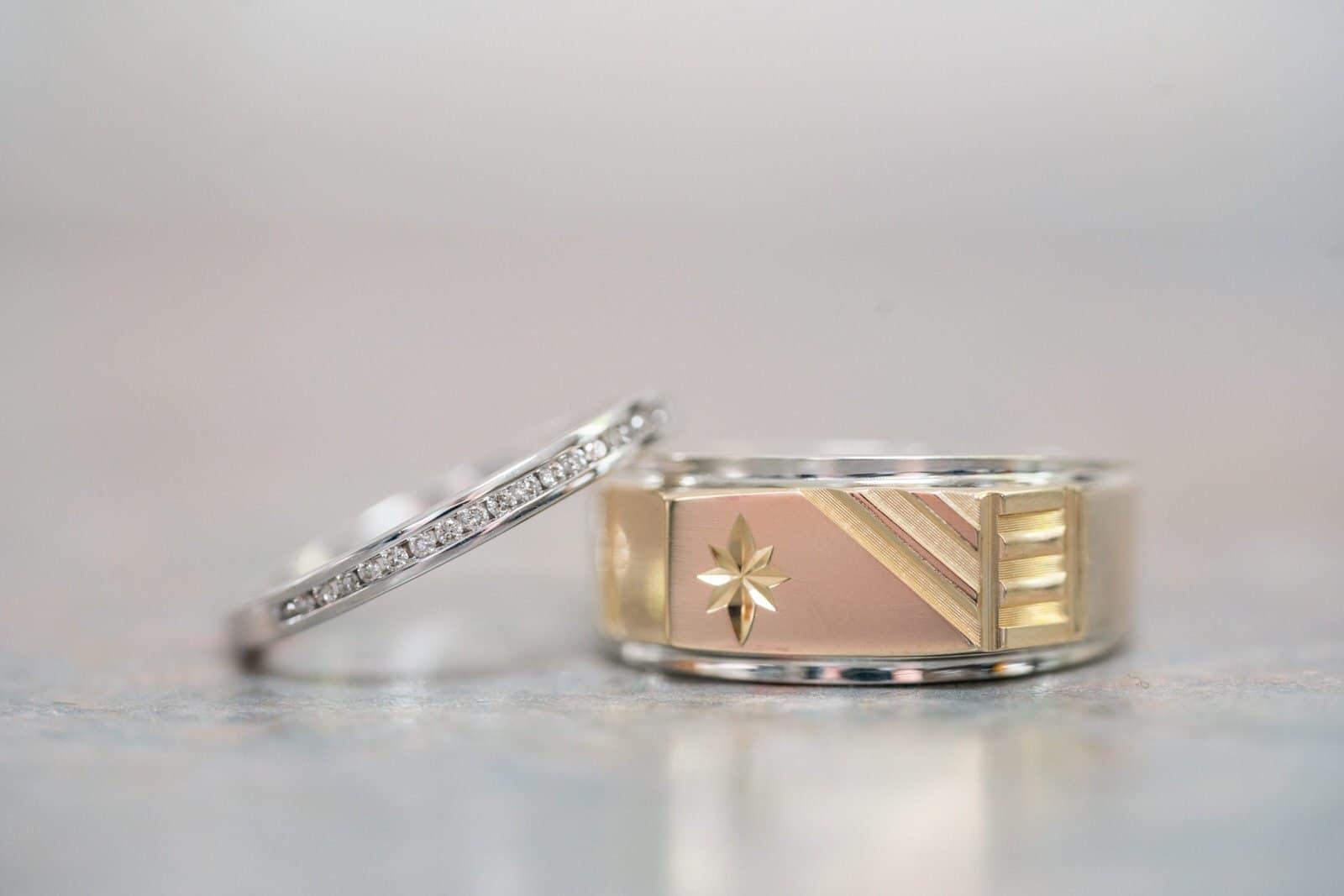 Chateau Wyuna Wedding ring details