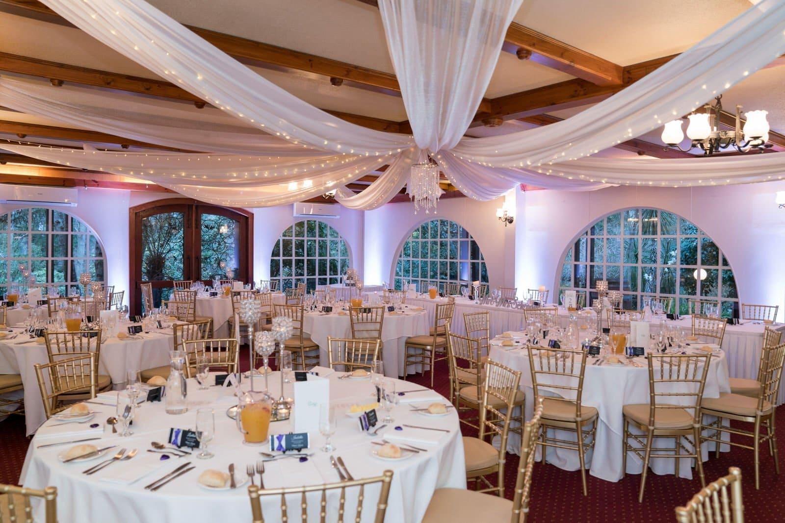 Chateau Wyuna Wedding Reception