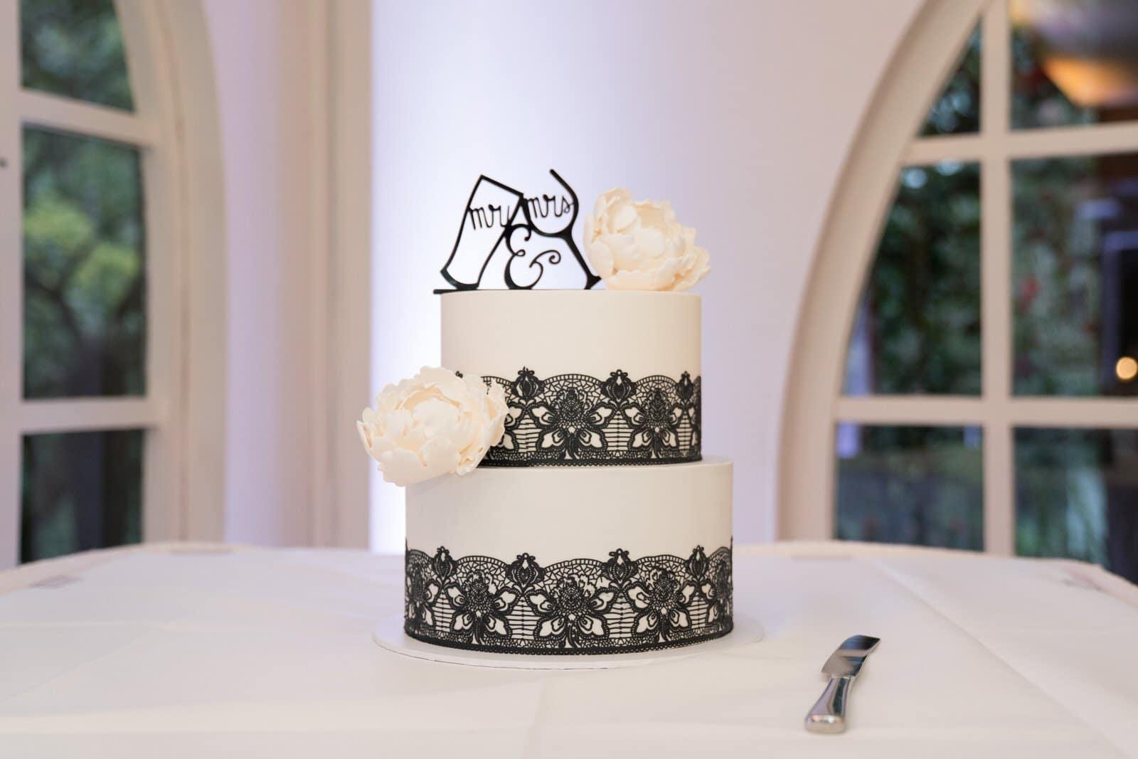 Chateau Wyuna Wedding Reception Cake