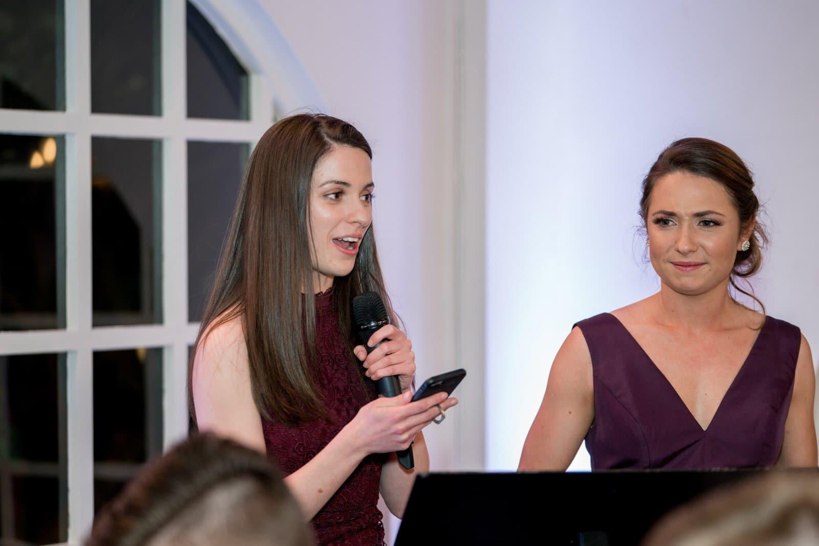 Chateau Wyuna Wedding Reception Speeches