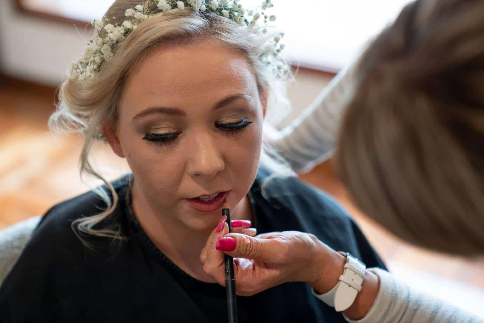 Lilydale Lake Wedding | Bride Prep