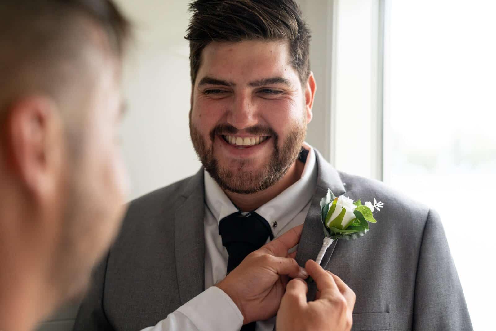 Lilydale Lake Wedding | Groom