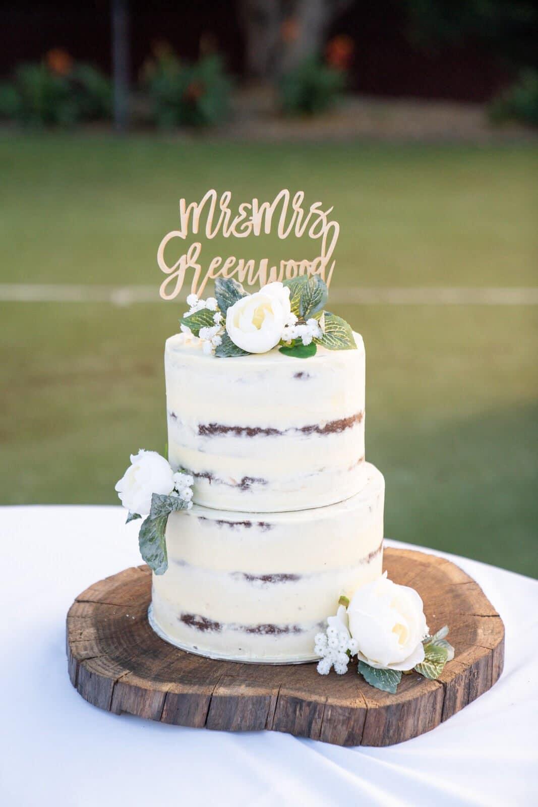 Lilydale Wedding | Wedding Cake
