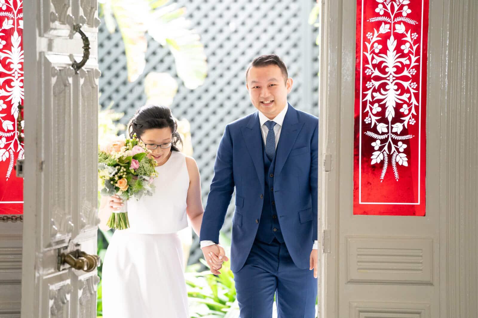 Quat Quatta | Wedding Reception Entrance