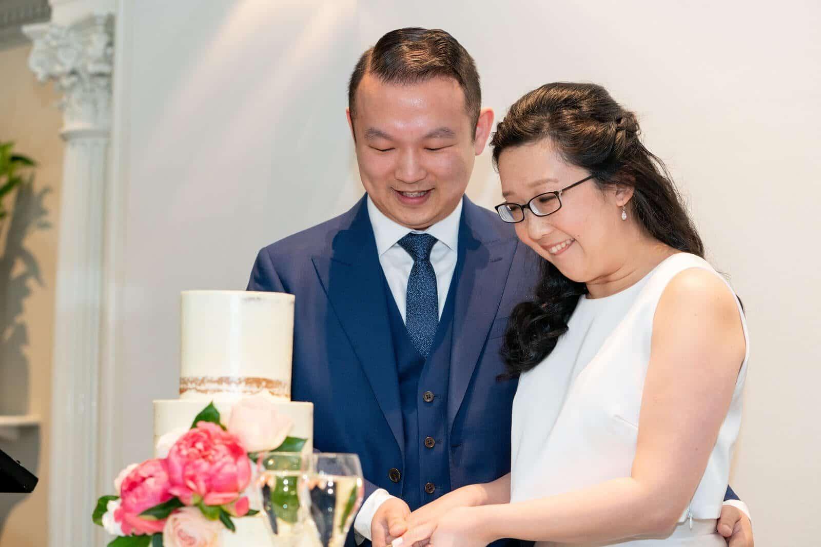 Quat Quatta | Wedding Reception Cake Cut