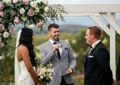 Vines of the Yarra Valley Wedding Ceremony