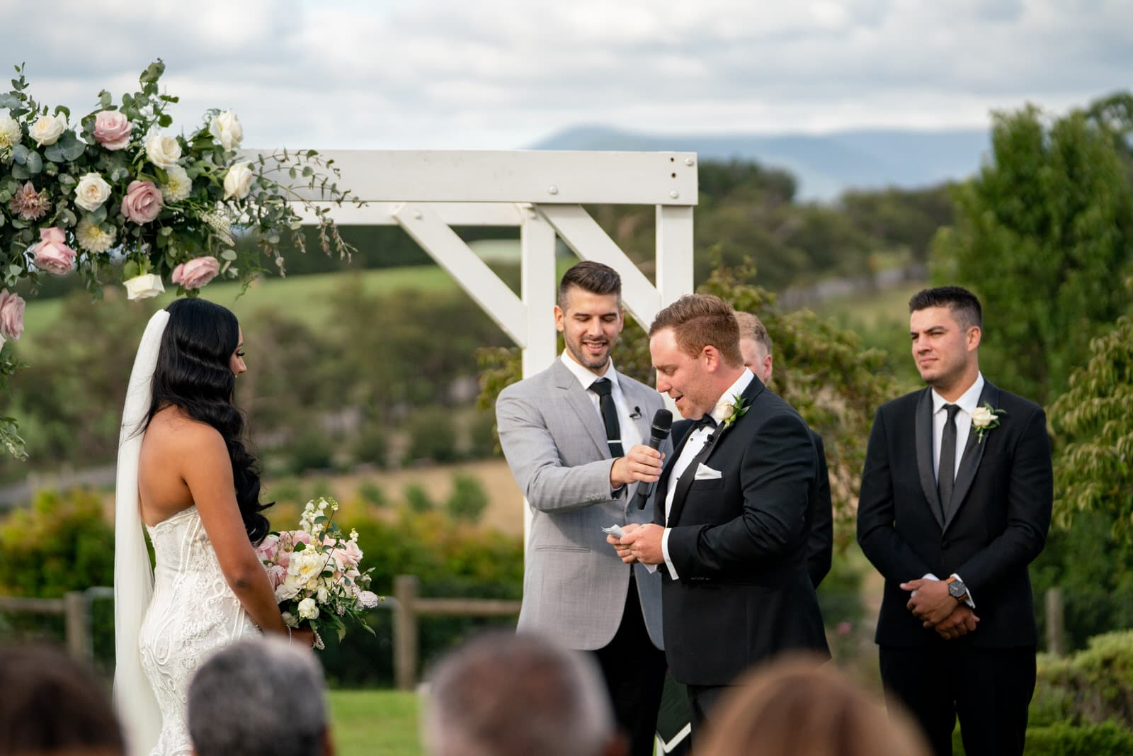 Vines of the Yarra Valley Wedding Ceremony