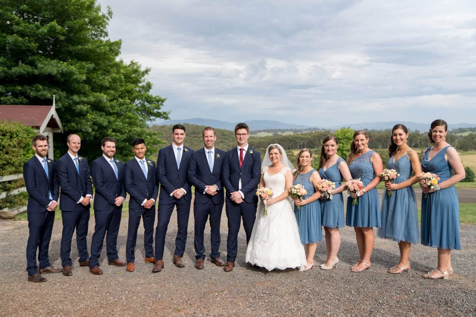 Wandin Park Estate Bridal Party