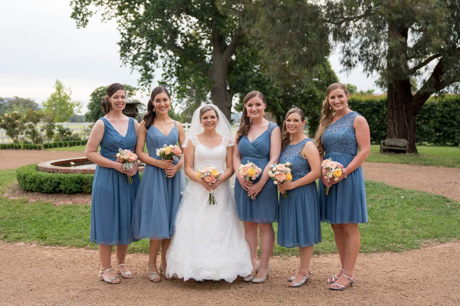 Wandin Park Estate Bridesmaids