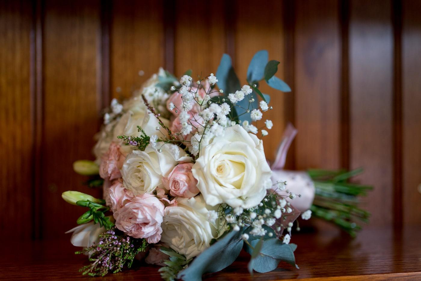 Gorgeous wedding flowers blush pink