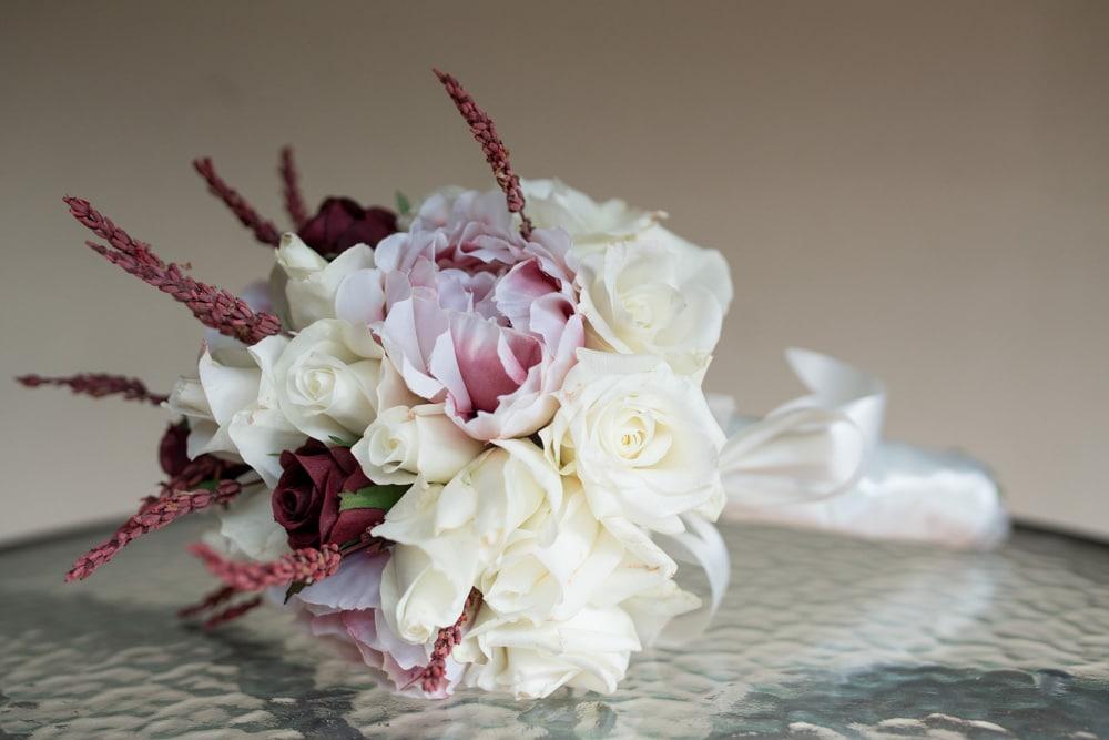 Blush Pink Wedding Bouquet Colour Palette