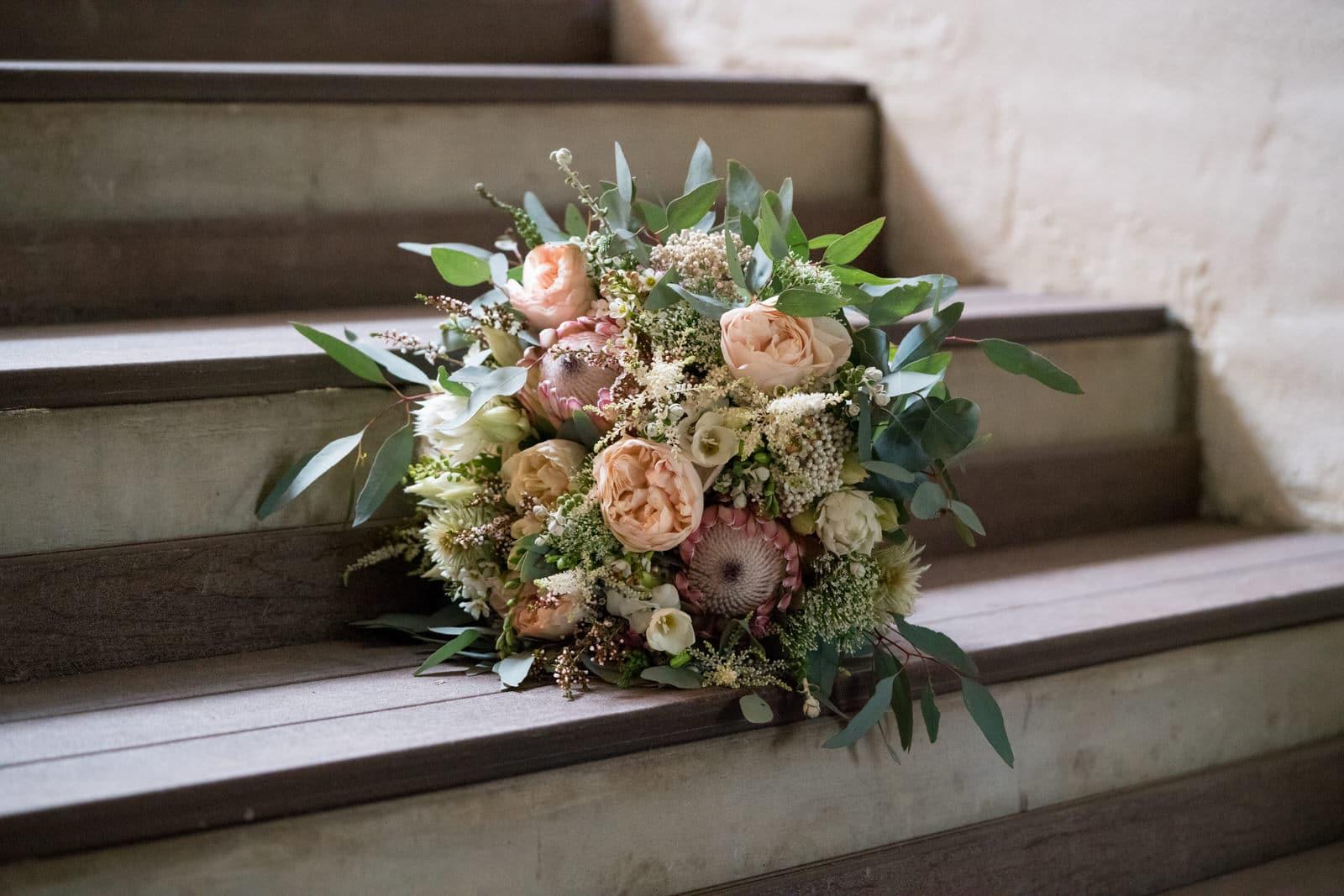 Stunning Australian Native Wedding Bouquet Inspiration